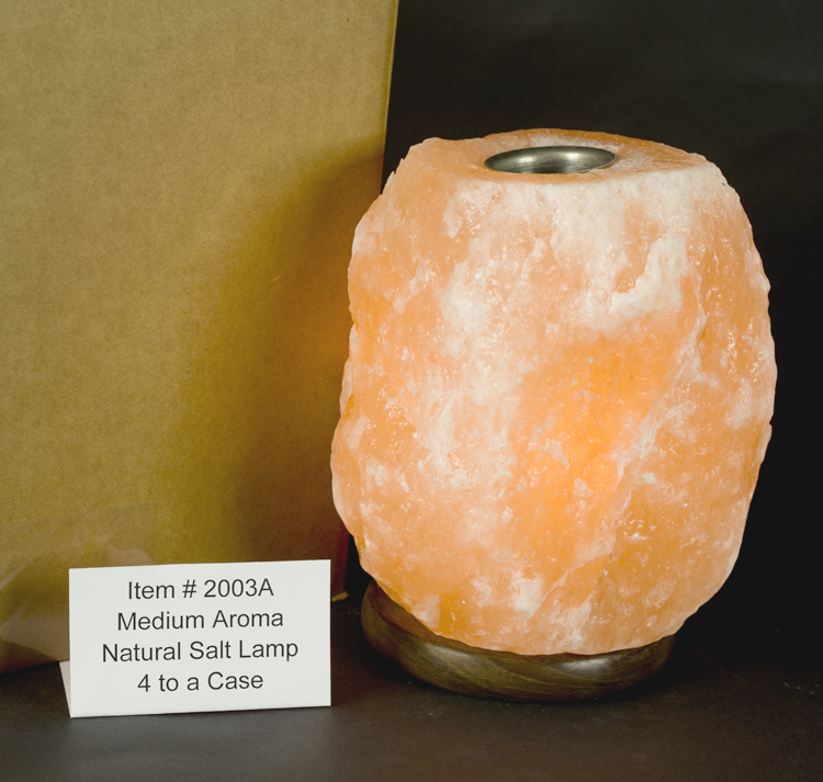 Natural Cut Himalayan Salt Lamps : Himalayan Salt Medium 9 - 11 lb. Aromatherapy Lamp/Full Case/4