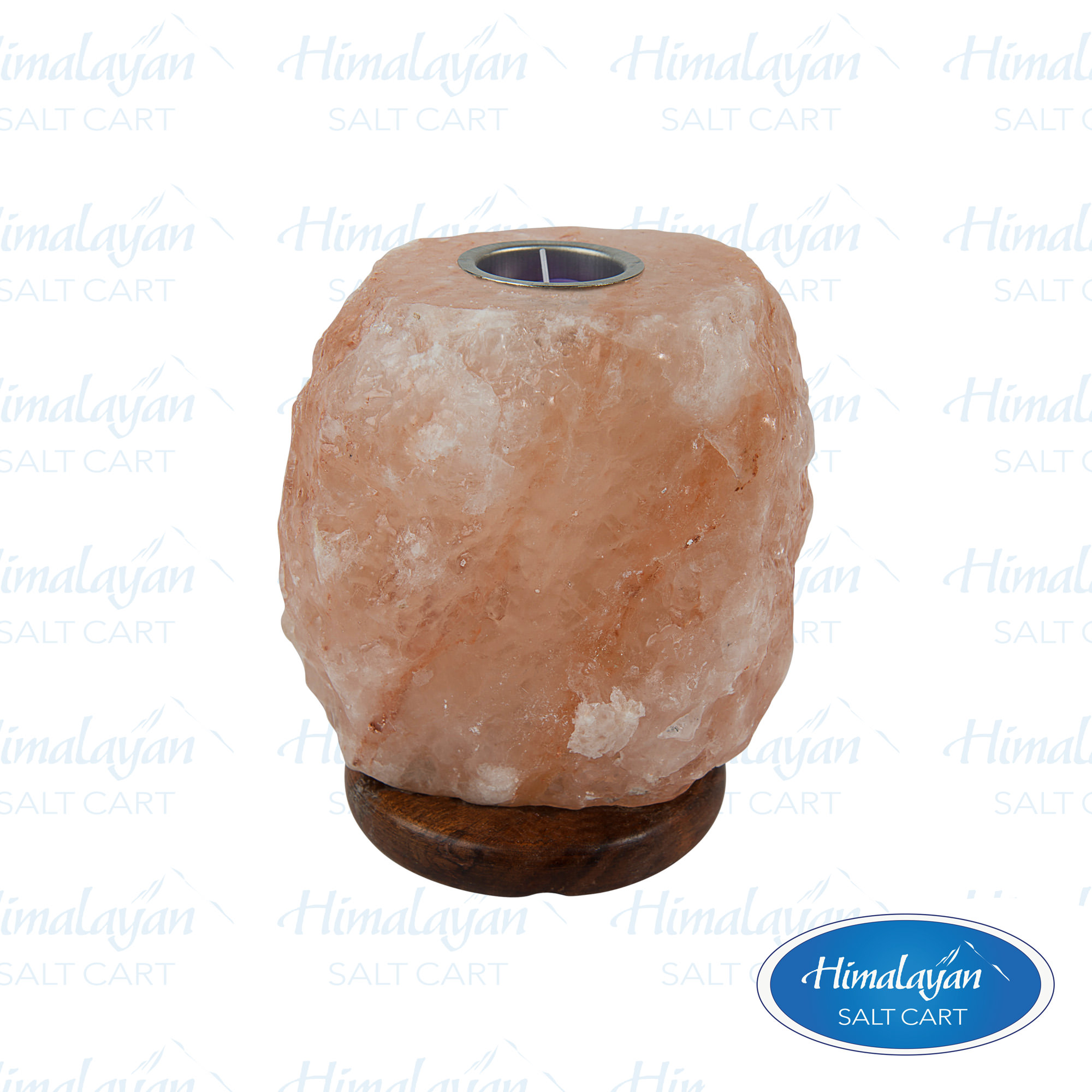 Himalayan Salt Lamps Georgia : Natural Cut Himalayan Salt Lamps : Himalayan Salt Medium 9 - 11 lb. Aromatherapy Lamp