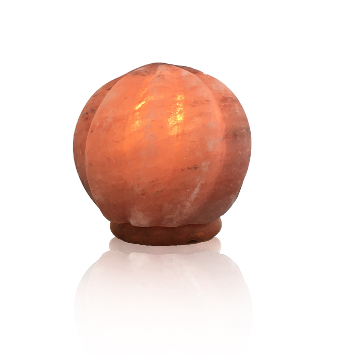 Crafted Himalayan Salt Lamps : Himalayan Salt Ball Flame Lamp/Full Case/4