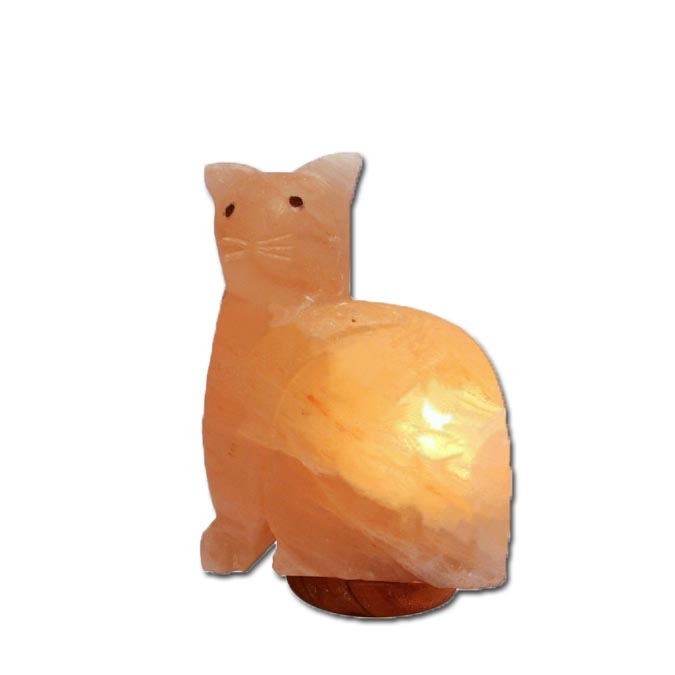 Animals And Specialty Shapes : Himalayan Salt Cat Lamp