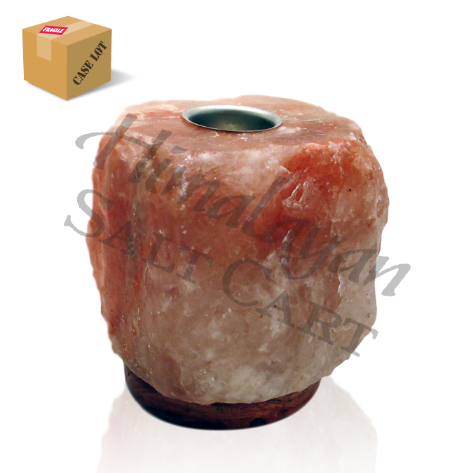 Himalayan Salt Lamps Georgia : Natural Cut Himalayan Salt Lamps : Himalayan Salt Mini 3 - 5 lb. Aromatherapy Lamp/Full Case/6