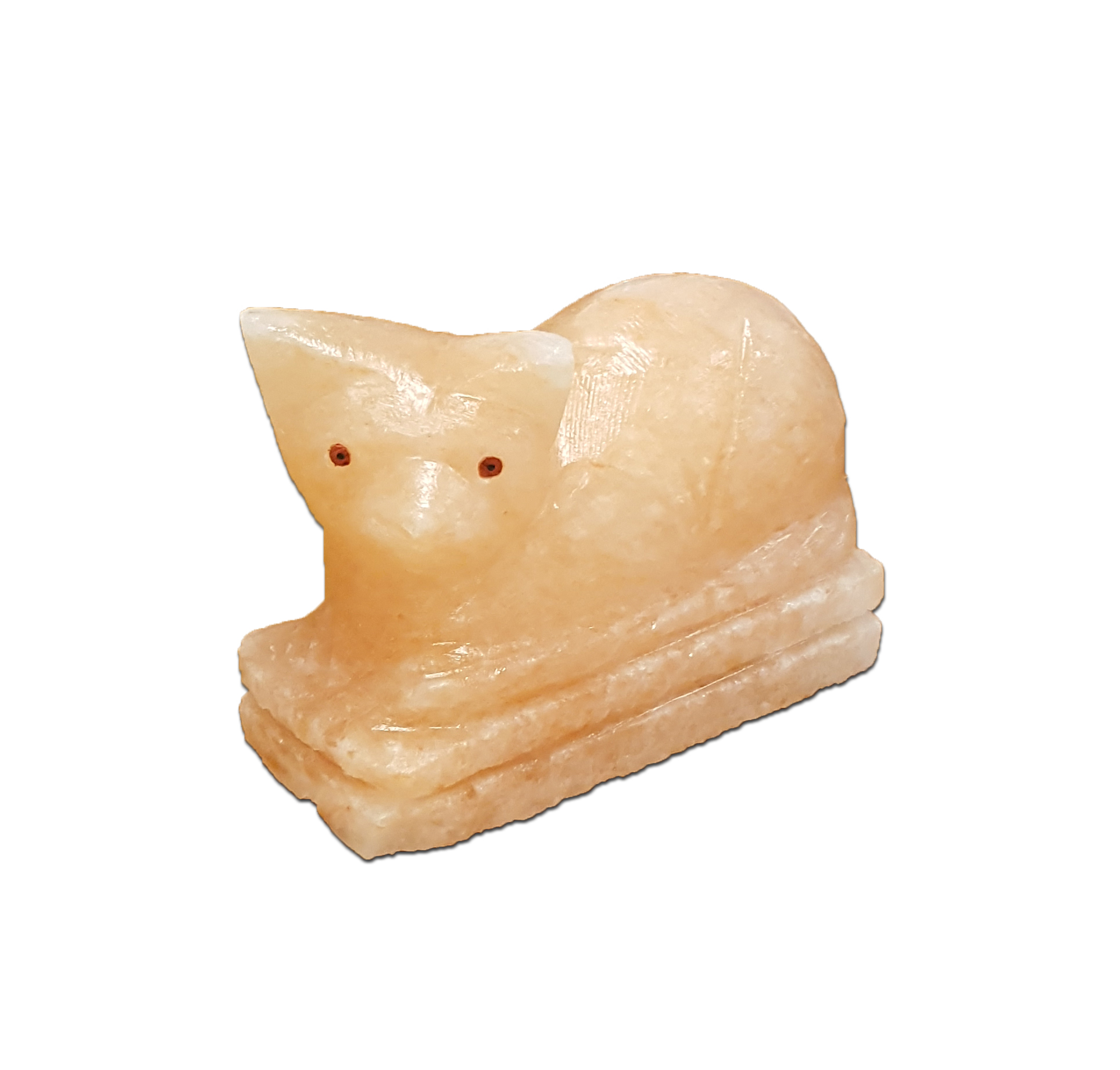 Himalayan Salt Lamps And Cats : Crafted Himalayan Salt Lamps : Himalayan Salt Mau Cat Lamp