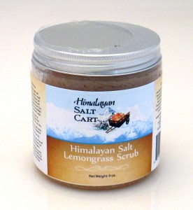 Himalayan Salt Cart Lemongrass Scrub