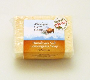 HSC Himalayan Salt Lemongrass soap